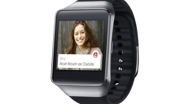 Mobile Dating für Smartwatch